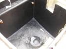 kleines Becken mit Topcoat